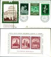 12118a)F.D.C.serie Concilio Ecumenico Vaticano II 2-12-65 SESSIONE IV-PAOLO VI - FDC