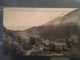 Ancienne Carte Postale - Environs Saint Gervais Les Bains - Saint-Gervais-les-Bains