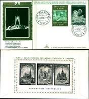 12119a)F.D.C.serie Concilio Ecumenico Vaticano II 18-11-65 SESSIONE IV-PAOLO VI - FDC