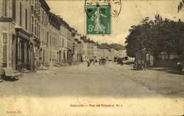54 - BACCARAT : RUE DE FROUARD / A 458 - Baccarat
