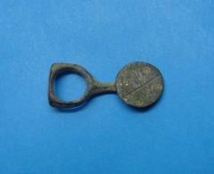 ROMAN VOTIVE MEDICAL INSTRUMENT, BRONZE, II C.A.D. - Archéologie