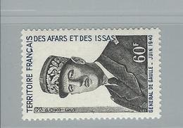 Timbre De Gaulle N° 375 Neuf Sans Trace Charnière - Afars Et Issas (1967-1977)