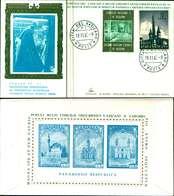 12120a)F.D.C.serie Concilio Ecumenico Vaticano II 19-11-65 SESSIONE IV-PAOLO VI - FDC
