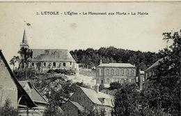 CP De L'Etoile, L'Eglise Et La Mairie - Andere Gemeenten
