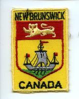 Ecusson Blason Patch Feutre NEW BRUNSWICK Canada - Ecussons Tissu