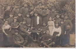 CARTE PHOTO DE SOLDATS A IDENTIFIER - Personnages