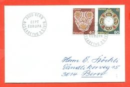 EUROPA - EUROPE-SVIZZERA CEPT -1976 - FDC