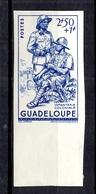 Guadeloupe  Maury N° 167 Non Dentelé Neuf ** MNH. TB. A Saisir! - Neufs