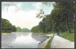 Postcard. The Dam, Lymm. Valentine's Series. Posted 1906 (0057) - Engeland