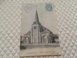 BU - 2100 - CRIQUEBEUF-sur-SEINE - L'Eglise , Clocher (XIIIe Siècle) - France