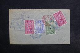 COSTA RICA - Enveloppe En Recommandé De Puntarenas Pour Londres En 1929  , Affranchissement Plaisant Au Verso - L 32172 - Costa Rica