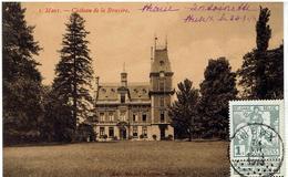 MEUX - Namur - Château De La Bruyère - Cachet Meux Sur 84 - 1 C Caritas Type Montald - La Bruyère