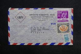 NICARAGUA - Enveloppe Commerciale De Managua Pour Paris , Affranchissement Plaisant - L 32173 - Nicaragua