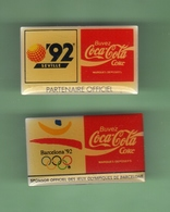 COCA COLA *** JO BARCELONE 92 + EXPO SEVILLE 92 *** 1018 - Coca-Cola