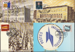Germany 12 Picture Post Cards With Special Cancels - Post