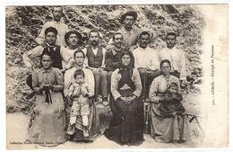 CORSE (20) - Groupe De Paysans - Obliteration OLMETO, 1925 - Ed. Collection Simon Damiani, Bastia - Other Municipalities