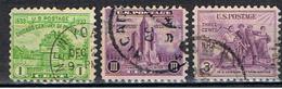 USA 143 // YVERT 320, 321, 322 // 1933 - United States
