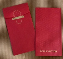 CC Lunar New Year 'LOUIS VUITTON' No 2/2' Red Pocket CNY Chinois 2019 RARE! - Modern (from 1961)