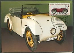 19/6 Allemagne Carte Max Car Voiture Automobile - Voitures
