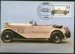 19/6 Allemagne Carte Max Car Voiture Automobile - Auto's