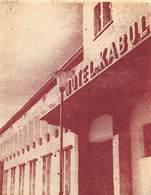 """D9296 """" HOTEL KABUL- AFGHANISTAN """" ETICHETTA ORIGINALE - Adesivi Di Alberghi"""