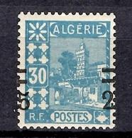 Algérie Variété Maury N° 72A Neuf ** MNH. Surcharge à Cheval. TB. A Saisir! - Unused Stamps