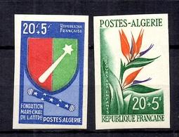 Algérie Maury N° 364/365 Non Dentelés Neufs ** MNH. TB. A Saisir! - Algérie (1924-1962)
