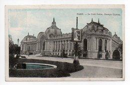 Paris: Le Petit Palais, Champs Elysees (19-988) - Arrondissement: 08