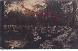 (59) - Montigny-en-Ostrevent Friedhof Cimetière  Carte Photo Allemande - Other Municipalities