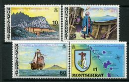 Montserrat 1973 480th Anniversary Of Columbus's Discovery Of Montserrat Set MNH (SG 313-16) - Montserrat