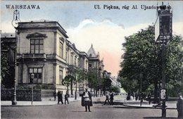 POLSKA - POLAND - POLOGNE - POLEN -WARSZAWA - WARSAW -  PIEKNA UJAZDOWSKICH  (2) - Polonia