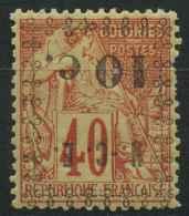 Nouvelle Caledonie (1891) N 13a * (charniere) - Ungebraucht