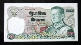 Thailand Banknote 20 Baht Series 12 P#88 SIGN#63 UNC - Thailand