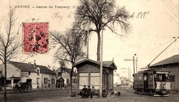 92] Hauts De Seine > Antony STATION DE  TRAMWAY  / - Antony