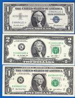 Usa  3  Billets - Large Size (...-1928)