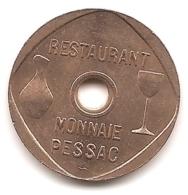 Jeton Restaurant De La Monnaie De Paris à Pessac : Boissons - Monetary / Of Necessity