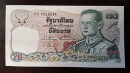 Thailand Banknote 20 Baht Series 12 P#88 SIGN#73 UNC - Thailand