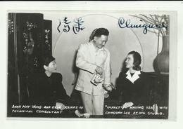 """-§.Anna MAY  WONG   And  ELLA  RAINES  Of Technical Consultant.* """"""""   ."""""""" - Artistes"""