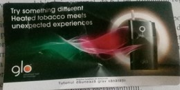 ROMANIA-CIGARETTES  CARD,NOT GOOD SHAPE,0.81 X 0.41 CM - Unclassified