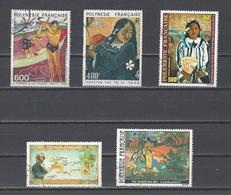 POLYNESIE.  YT  PA  N° 174-1183-154-175-144  Obl  1979-84 - Poste Aérienne