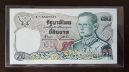 Thailand Banknote 20 Baht Series 12 P#88 SIGN#72 - Replacement 1Sพ - Thailand