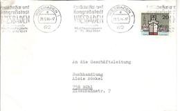 ALLEMAGNE DEUTSCHLAND GERMANY KUR CURE THERMALISME KONGRESS CONGRES WIESBADEN MAIFESTSPIELE MAI CALENDRIER - Hydrotherapy