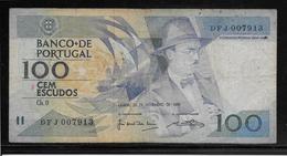 Portugal - 100 Escudos - Pick N°179f - TB - Portogallo