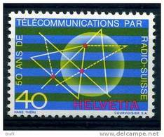 1971, Svizzera, Radio   , Serie Completa Nuova (**) - Nuovi