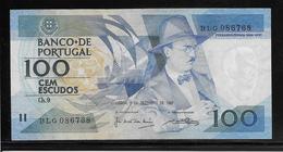 Portugal - 100 Escudos - Pick N°179d - TTB - Portogallo