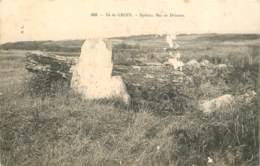 56 - ILE DE GROIX - Dolmen Mez Er Driazeu - Groix