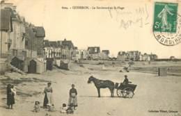 56 - QUIBERON - Le Boulevard Et La Plage En 1915 - Animée - Quiberon