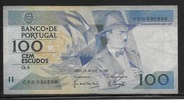 Portugal - 100 Escudos - Pick N°179e - TTB - Portugal