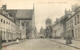 59 - BAILLEUL - La Rue Du Collège - France