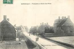59 - BAMBECQUE - Presbytere Et Ecole Des Filles En 1908 - Andere Gemeenten